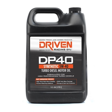 Driven Racing 5W-40 Synthetic Turbo Diesel Oil (1 Gallon)