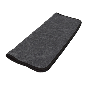 The Rag Company Double Twistress Microfiber Towel Black