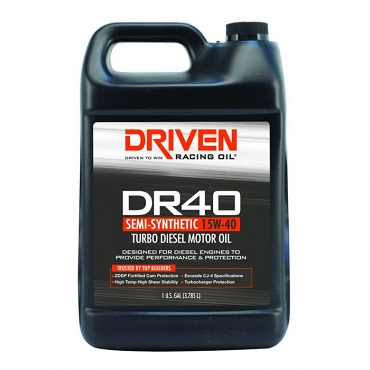 CJ-4 Diesel Oil 15W-40 - Gallon Jug