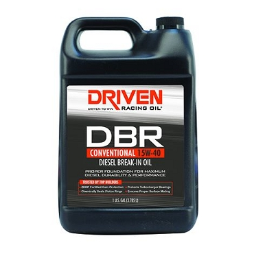 Driven Racing 15W-40 Conventional Diesel Break-In Oil (1 Gallon)